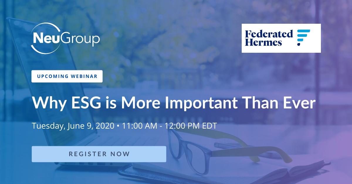 NeuGroup Federated Hermes ESG Webinar